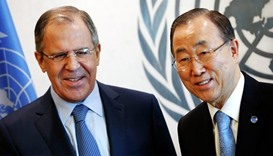 UN chief, Lavrov uphold Syria agreement, call for talks