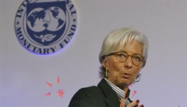 International Monetary Fund chief Christine Lagarde