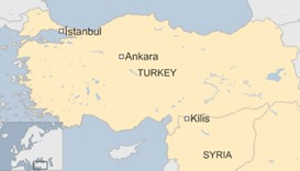 Rocket fire from Syria hits south Turkey