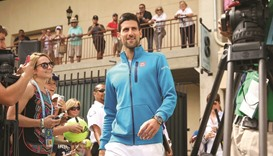 Sharapova courageous but must suffer consequences, says Djokovic