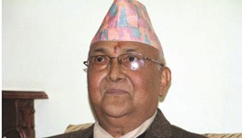Embattled Nepali PM expected to face no-confidence motion