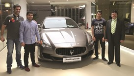 Maserati hosts event with master drivers