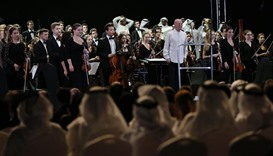 Concert kicks off lead-up to opening of Louvre Abu Dhabi