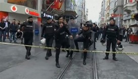 Two people killed after a suicide bombing in central Istanbul