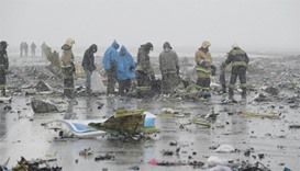 Flydubai plane crashes in Russia, all 62 people on board killed