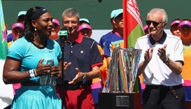 Serena slams Indian Wells boss for 'offensive' remarks