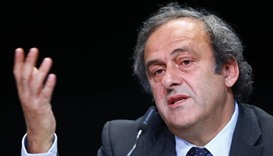 Platini appeals ban at world sports tribunal