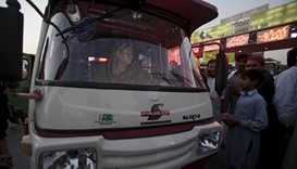 Pakistan's women-only rickshaw service struggles after a year