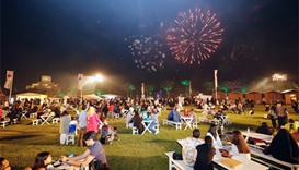 QIFF features daily fireworks at the MIA Park at 8pm