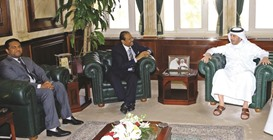 Prime Minister receives chief of LuLu Group