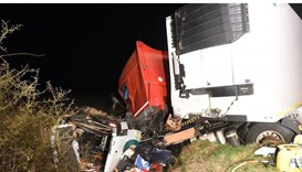 The accident happened in the French department of Allier just before midnight local time