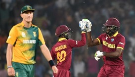 West Indies move into semi-finals after beating South Africa