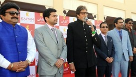 Bachchan, other film stars add colour as Kalyan comes to Qatar