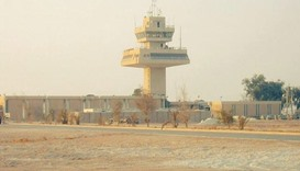 Al-Asad air base, located about 180 kilometres northwest of Baghdad in is one of the largest militar
