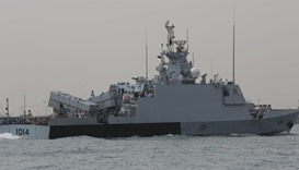 Warships participating in this year's Dimdex. PICTURES: Jayaram