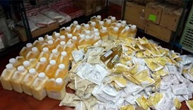 Ministry inspectors seize expired foodstuff from restaurant