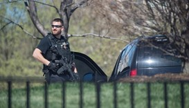Police officer shot and wounded in US Capitol complex