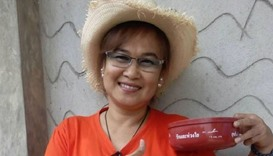 Thai woman faces sedition trial for posing with plastic bowl