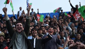 Hero's welcome for Afghan team after historic win