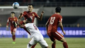 China-Qatar football