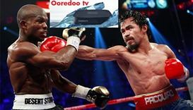 Free coverage of boxing matches on Ooredoo tv
