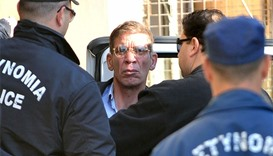 Seif al-Din Mohamed Mostafa (C), an Egyptian man who hijacked an EgyptAir passenger plane the yester