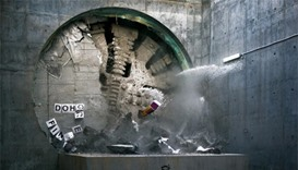 Doha Metro tunnelling