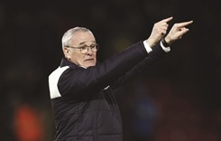 Leicester coach Ranieri refuses to daydream of title