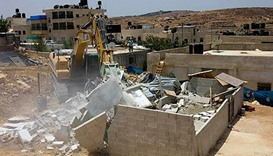 Israel razing Palestinian buildings at 'alarming' rate: UN