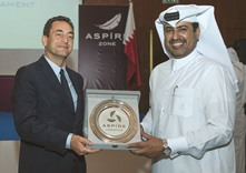 Participants of Aspire banks and embassies tournaments honoured
