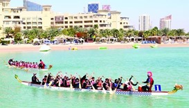Dragon boat races a 'team building exercise' for companies