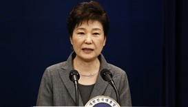 South Korea's President Park Geun-Hye