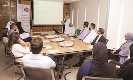 Al Khaliji organises nutrition awareness event for its staff