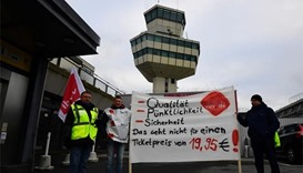 Berlin airport workers to strike again over pay