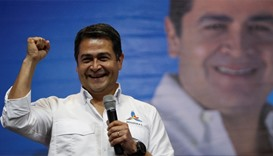 Honduran president wins party primary, eyeing re-election