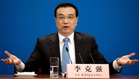 Chinese premier warns US against 'trade war'