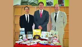 Canadian embassy donates books to French Institute