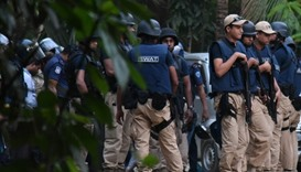 Four killed as Bangladesh police storm Islamist hideout