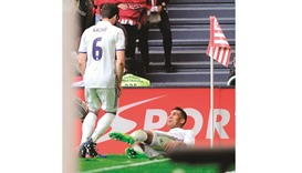 Casemiro guides leaders Real through Athletic test