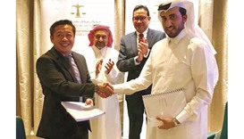 QICDRC signs accord with Singaporean firm