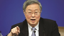 Chinese growth prospects improved, says PBoC chief