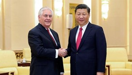 China and US pledge to strengthen relations