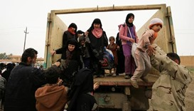 More than 180,000 displaced from west Mosul, says Iraq