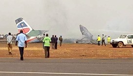 South Supreme Airlines plane has crashed at Wau Airport