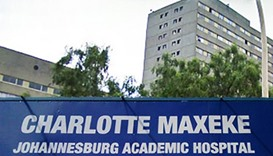 Patients trapped after roof collapse at S. African hospital