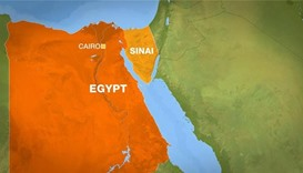 Ten Egyptian soldiers killed in Sinai fighting