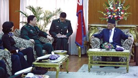 China, Nepal discuss joint military drill