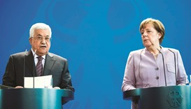 Merkel and Abbas