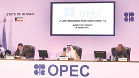 Opec, non-Opec to look at extending oil production cut by another six months