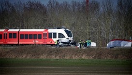 Two killed as car collides with Dutch train on crossing